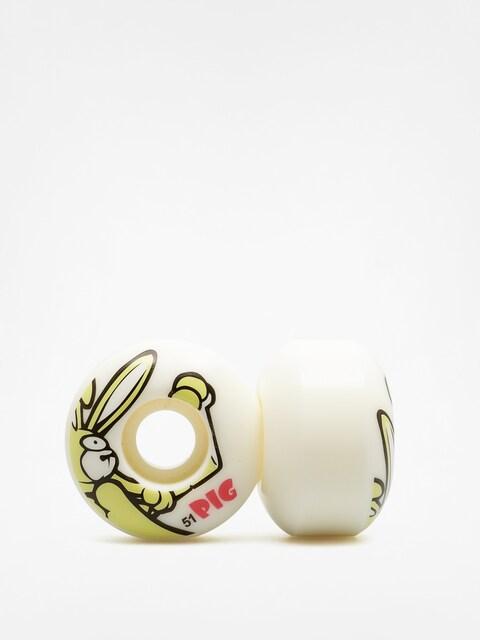 Kolieska Pig Rabbit (white/yellow)