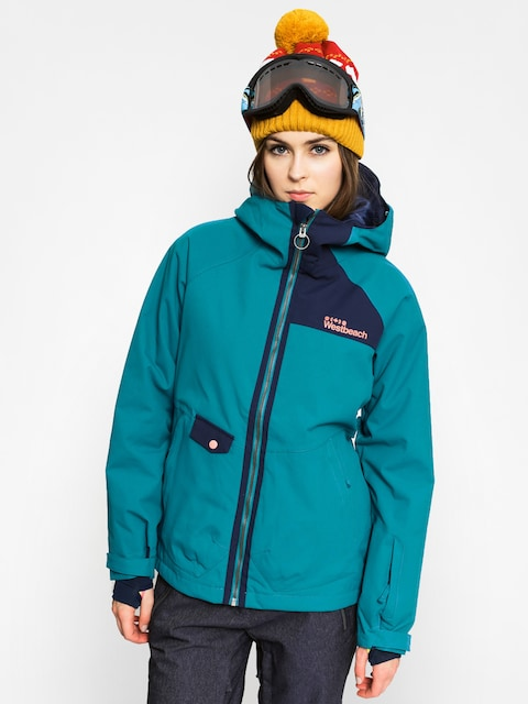Snowboardová bunda Westbeach Kinsac Wmn (seaweed)
