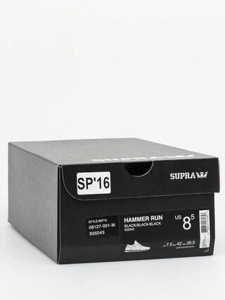 Topánky Supra Hammer Run (black/black black)