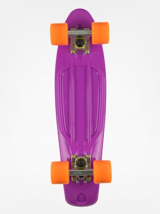 Cruiser Fish Skateboards 01 (purple/silver/orange)