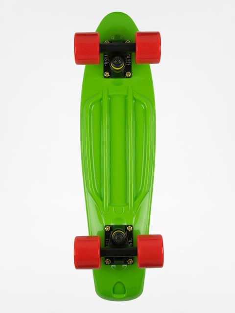Cruiser Fish Skateboards 02 (green/black/red)