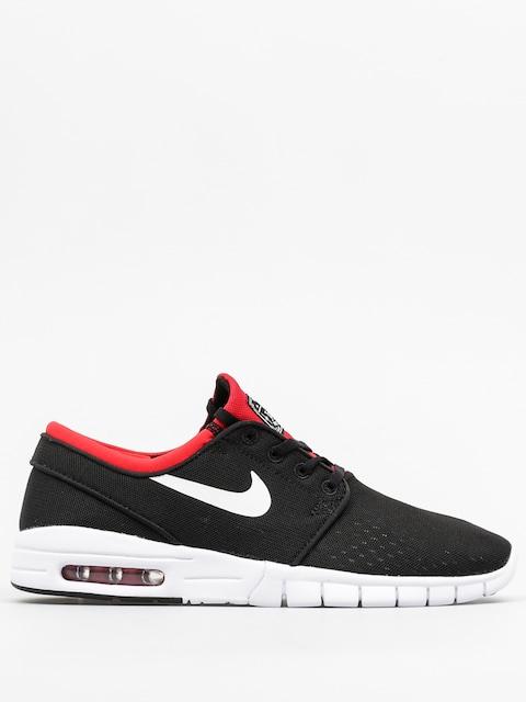 Topánky Nike SB Stefan Janoski Max (black/white university red)