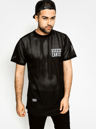 Tričko Backyard Cartel Transition Mesh Long (black)
