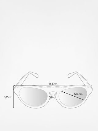 Slnečné okuliare Majesty Crux (tortoise/brown)