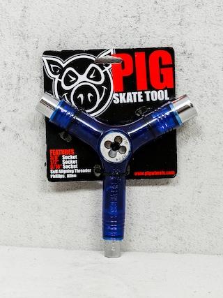 Ku013eu00fau010d Pig Skate Tool (transparent blue)