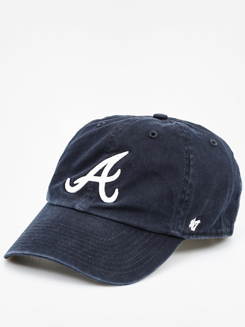 Šiltovka 47 Brand Atlanta Braves ZD (washed black)