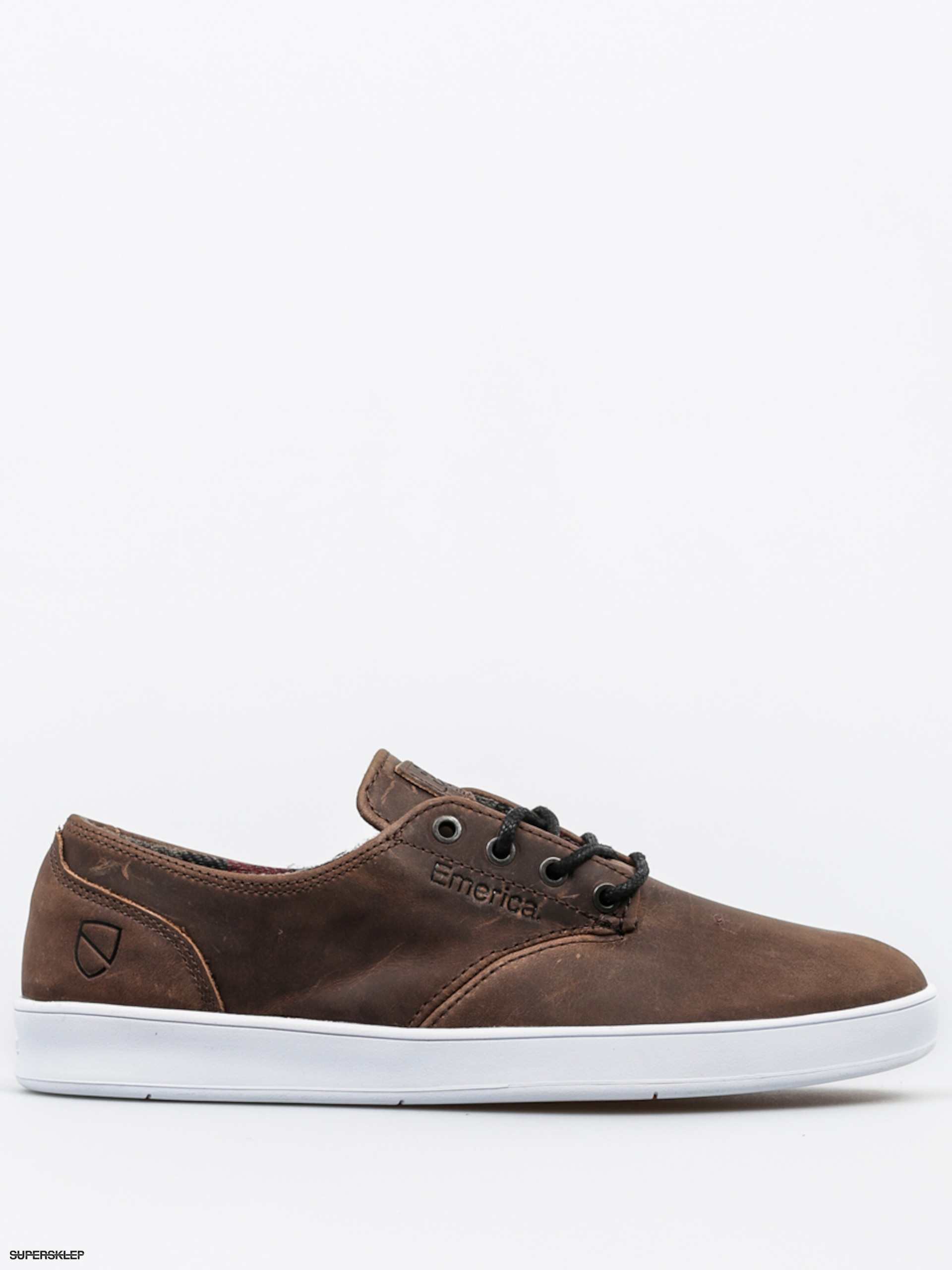 Topánky Emerica The Romero Laced X Eswic (brown/white)