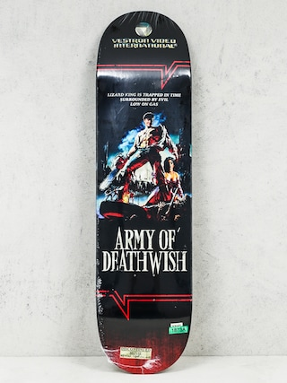 Doska Deathwish Lizard King Vhs Wasteland (black)