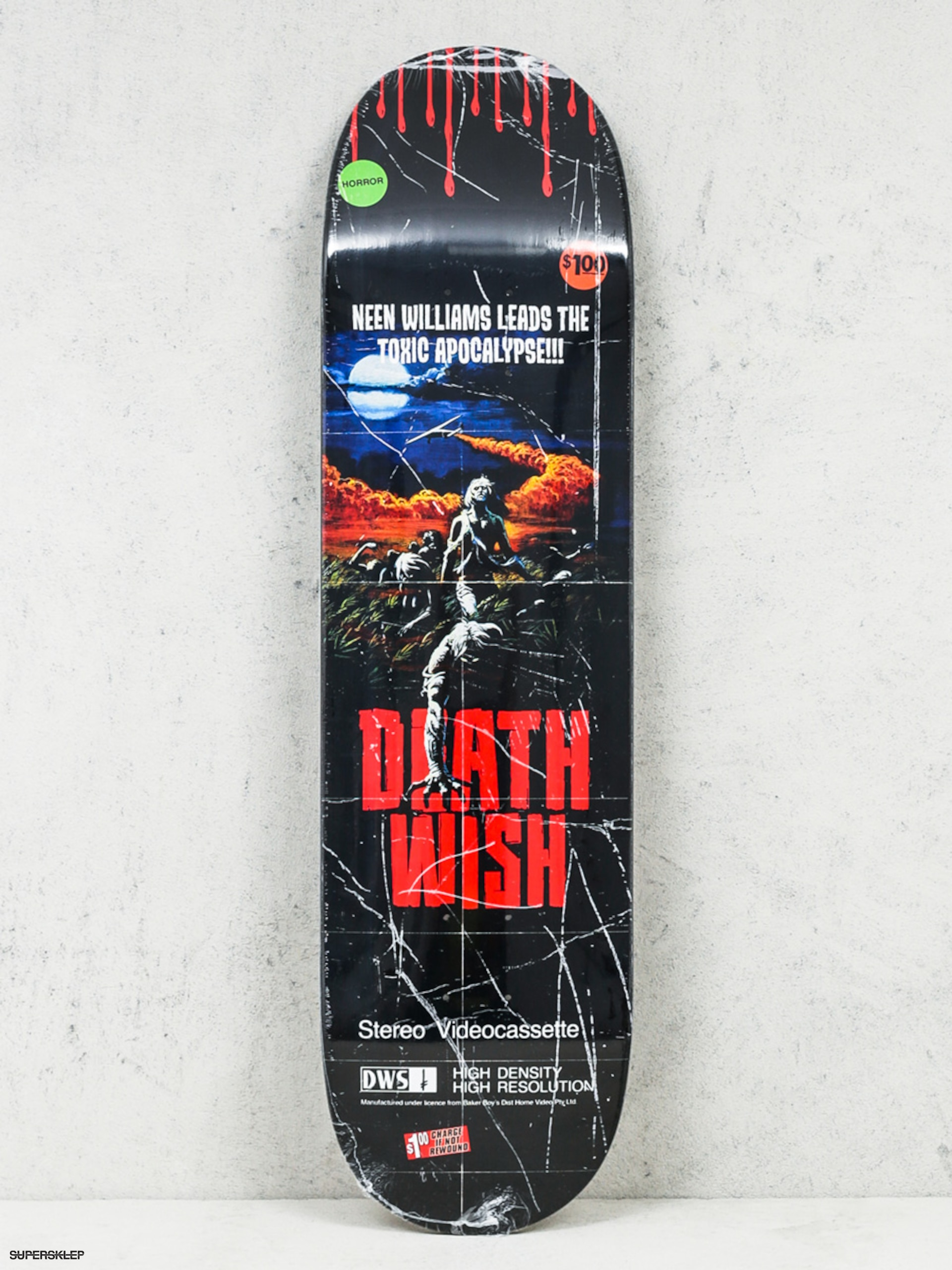 Doska Deathwish Neen Williams Vhs Wasteland