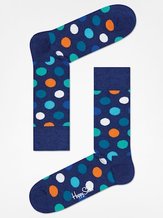 Ponožky Happy Socks Big Dot (wasehd navy/navy)