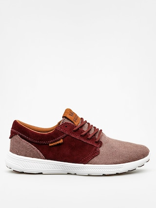 Topánky Supra Hammer Run Nonstrtch (burgundy/brown white)