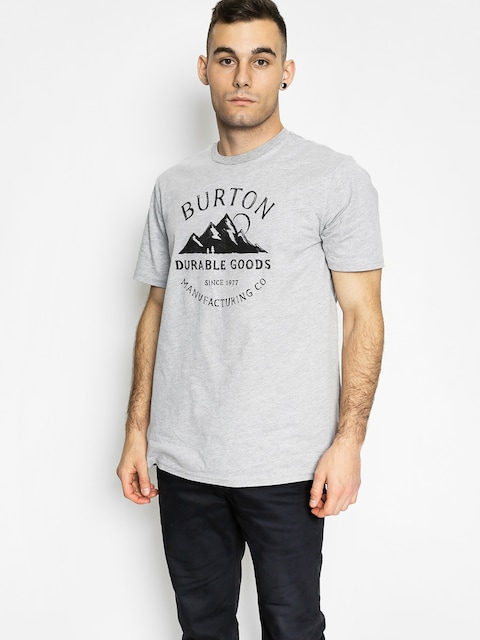 Tričko Burton Overlook Slim (gray heather)