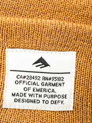 Čiapka Emerica Standard Issue Beanie (tan)
