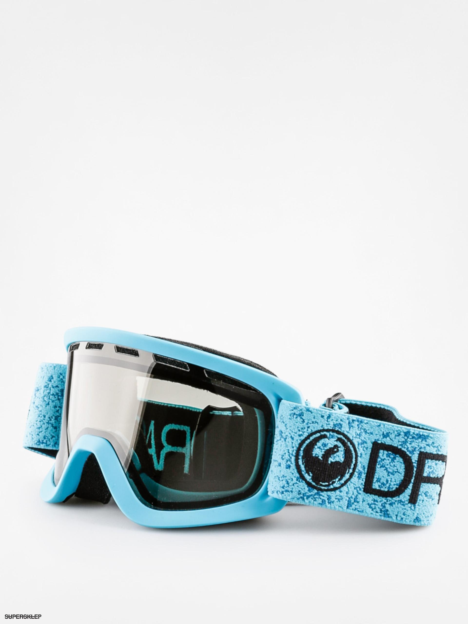 f63d853a0 Detské okuliare na snowboard Dragon Lil D (blue/smoke)