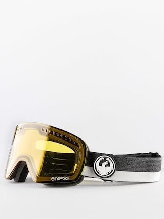 Okuliare na snowboard Dragon NFXS (flux grey/injected transition yellow)