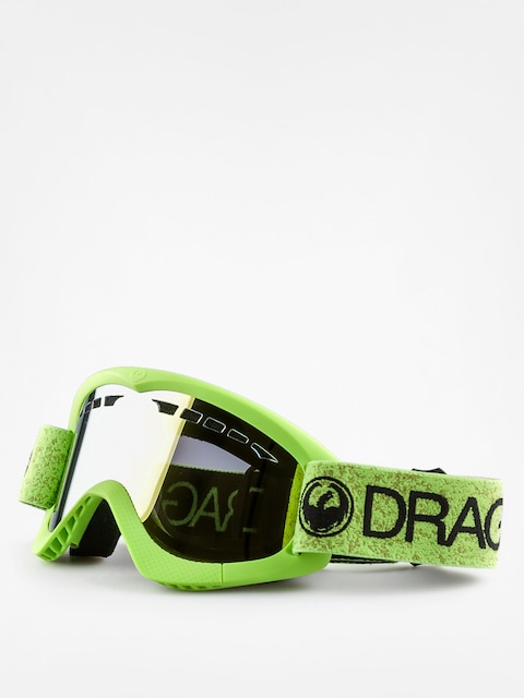 Okuliare na snowboard Dragon DXS (green/smoke gold ion)