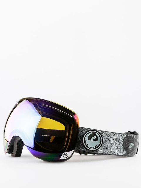 Okuliare na snowboard Dragon X1 (mason grey/flash green polarized)