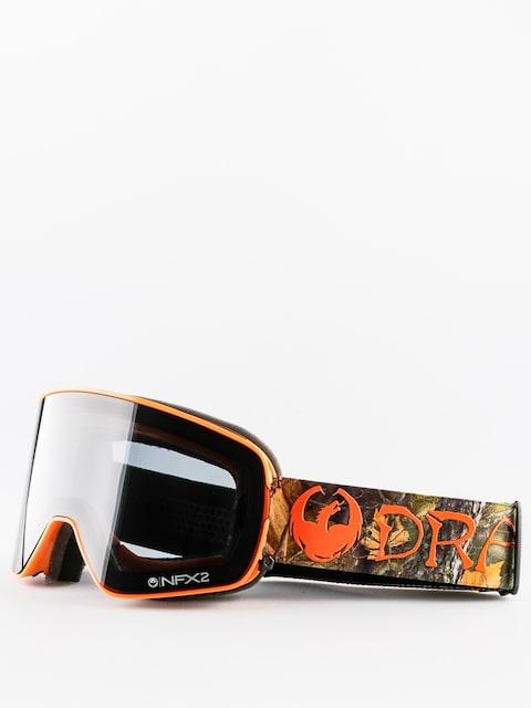 Okuliare na snowboard Dragon NFX2 (danny davis signature/dark smoke/yellow red ion)