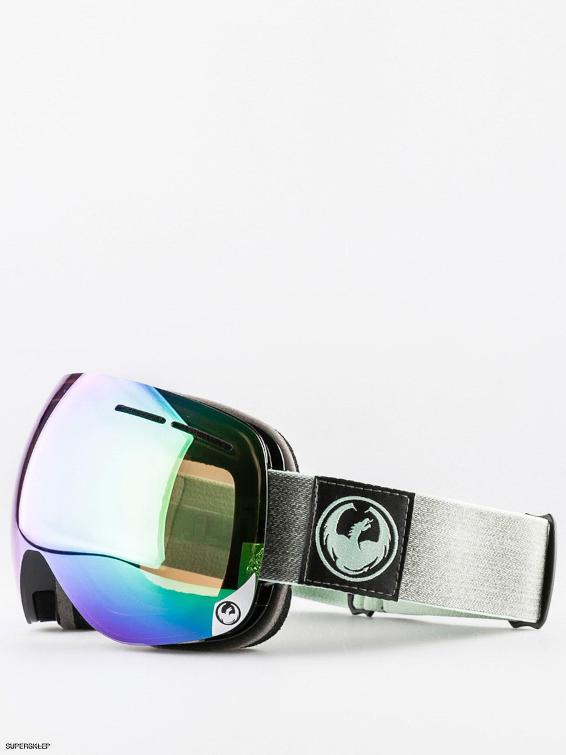 Okuliare na snowboard Dragon X1s (hone emerald optimized flash green/optimized flash blue)