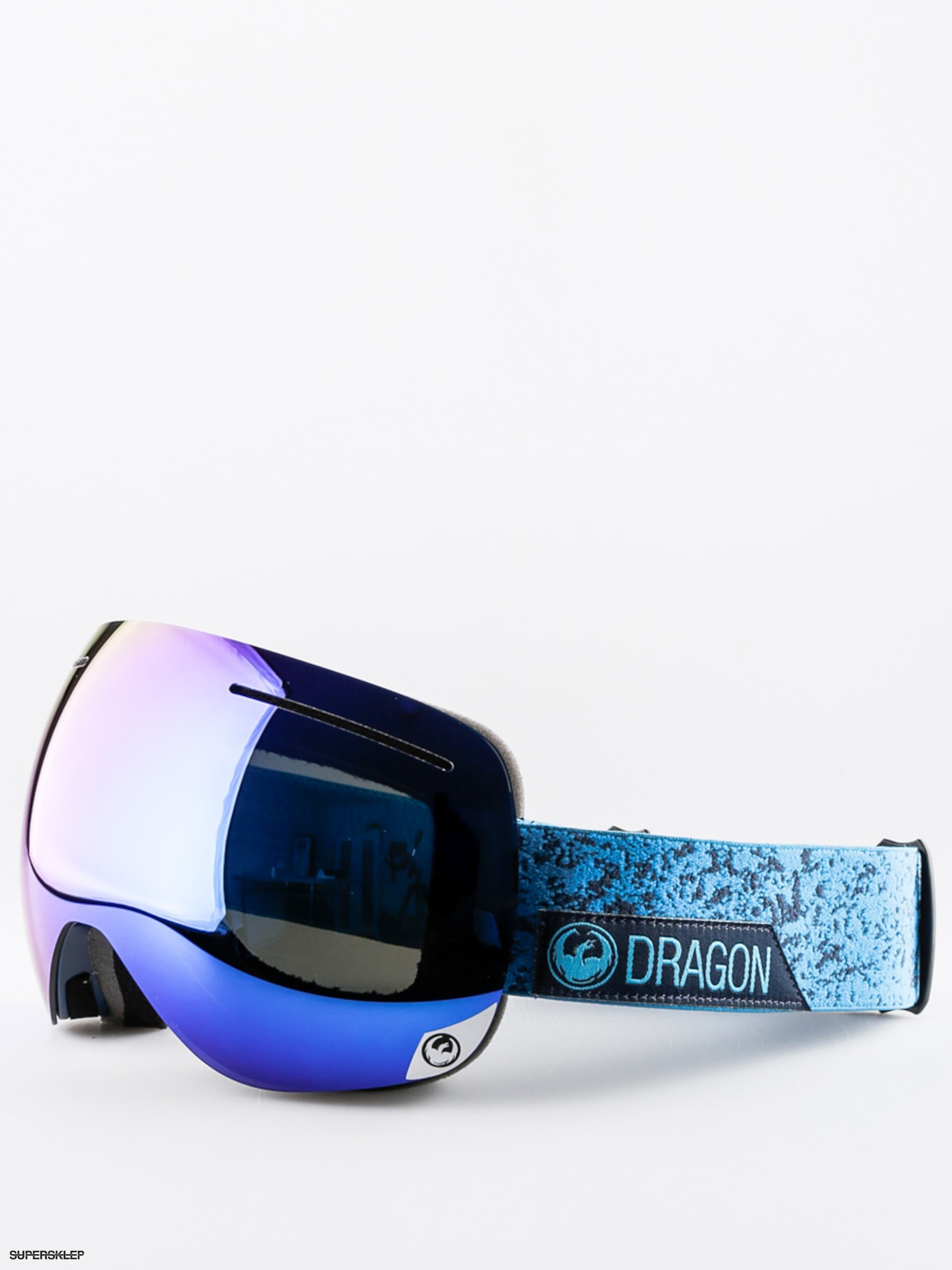 Okuliare na snowboard Dragon X1 (stone blue/dark smoke blue ion/yellow red ion)
