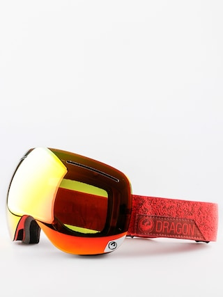 Okuliare na snowboard Dragon X1 (stone red/red ion/yellow red ion)