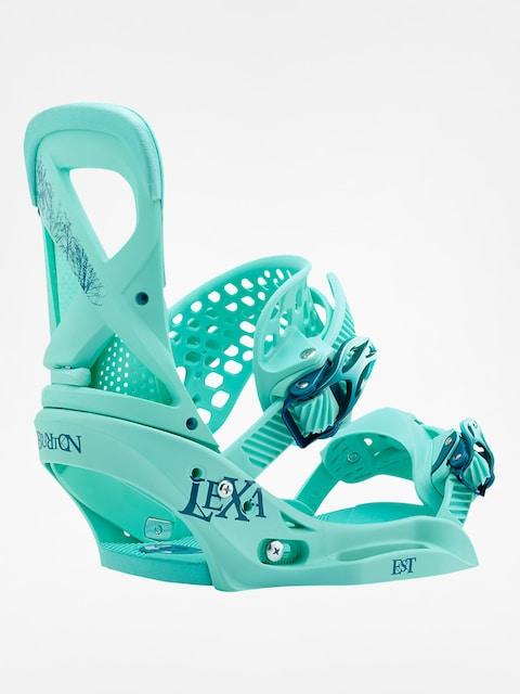 Snowboardové viazanie Burton Lexa Est Wmn (the teal deal)