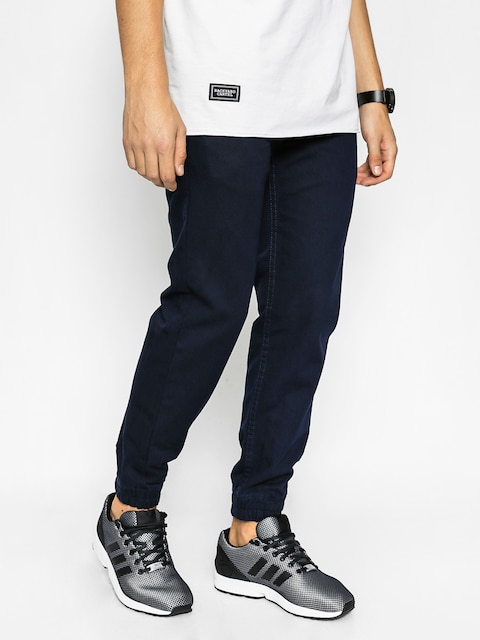 Nohavice Backyard Cartel Jogger Chino (dark navy)