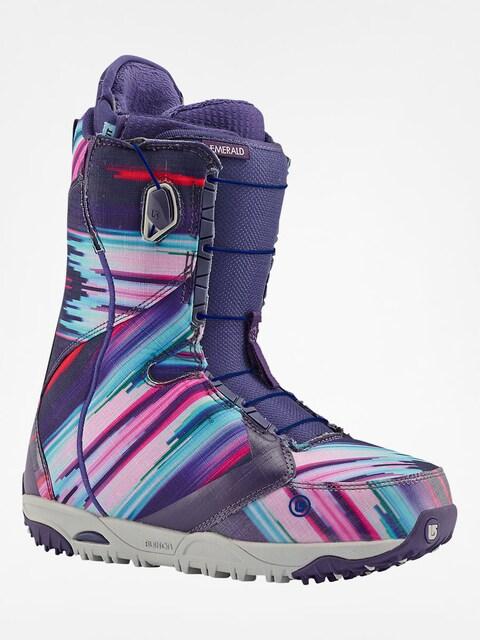 Obuv na snowboard Burton Emerald Wmn (multi print)