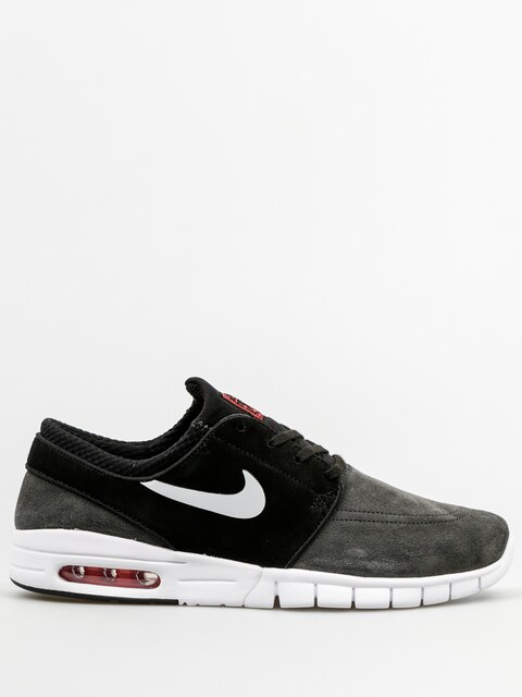 Topánky Nike SB Stefan Janoski Max L (anthracite/pure platinum black)