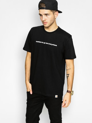 Tričko Carhartt Nowhere To Go (black)