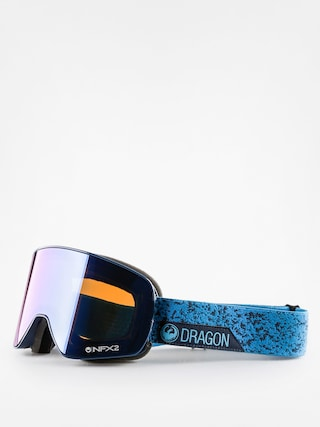 Okuliare na snowboard Dragon NFX2 (stone blue/blue steel yellow red ion)