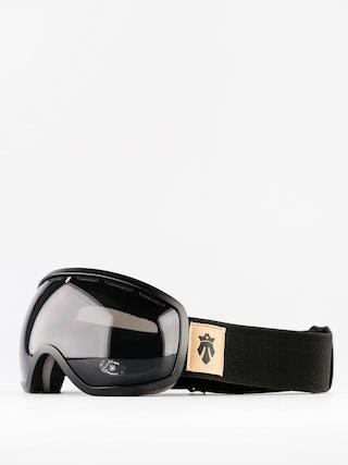 Okuliare na snowboard Majesty One11 (matt black/black pearl)