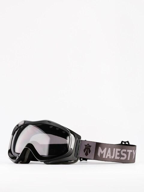 Okuliare na snowboard Majesty Patrol (glossy black/black smoke)