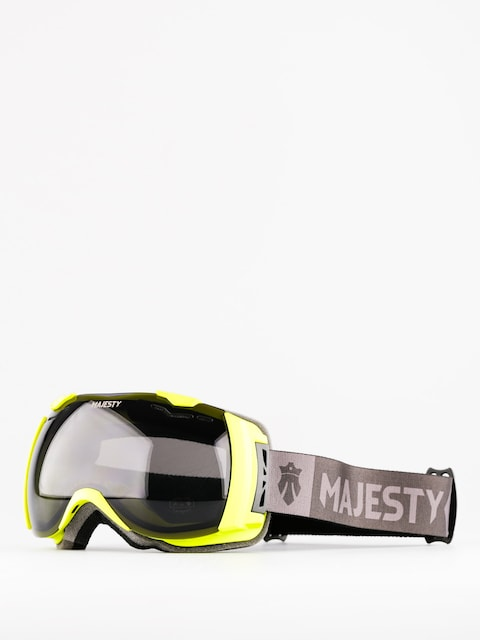 Okuliare na snowboard Majesty Spectrum (matt lime/black smoke lens)