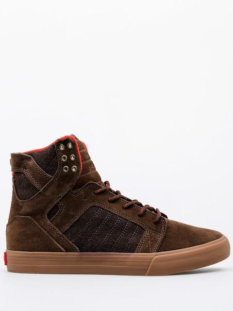 Topánky Supra Skytop (brown gum)