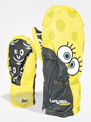 Level Dětské Rukavice Lucky Mitt (yellow)
