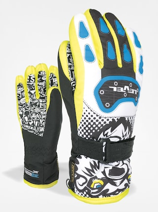 Rukavice Level Junior (black/yellow)