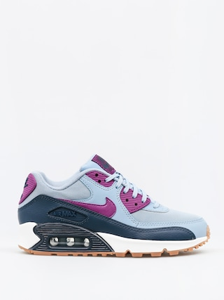 Topánky Nike Air Max 90 Wmn (Essential blue grey/bright grape)