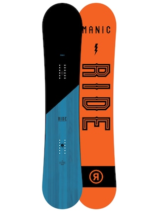 Snowboard Ride Manic (orange/black)