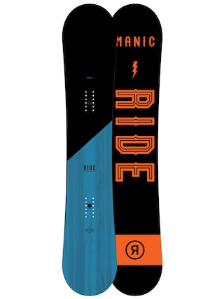 Snowboard Ride Manic (black/orange)