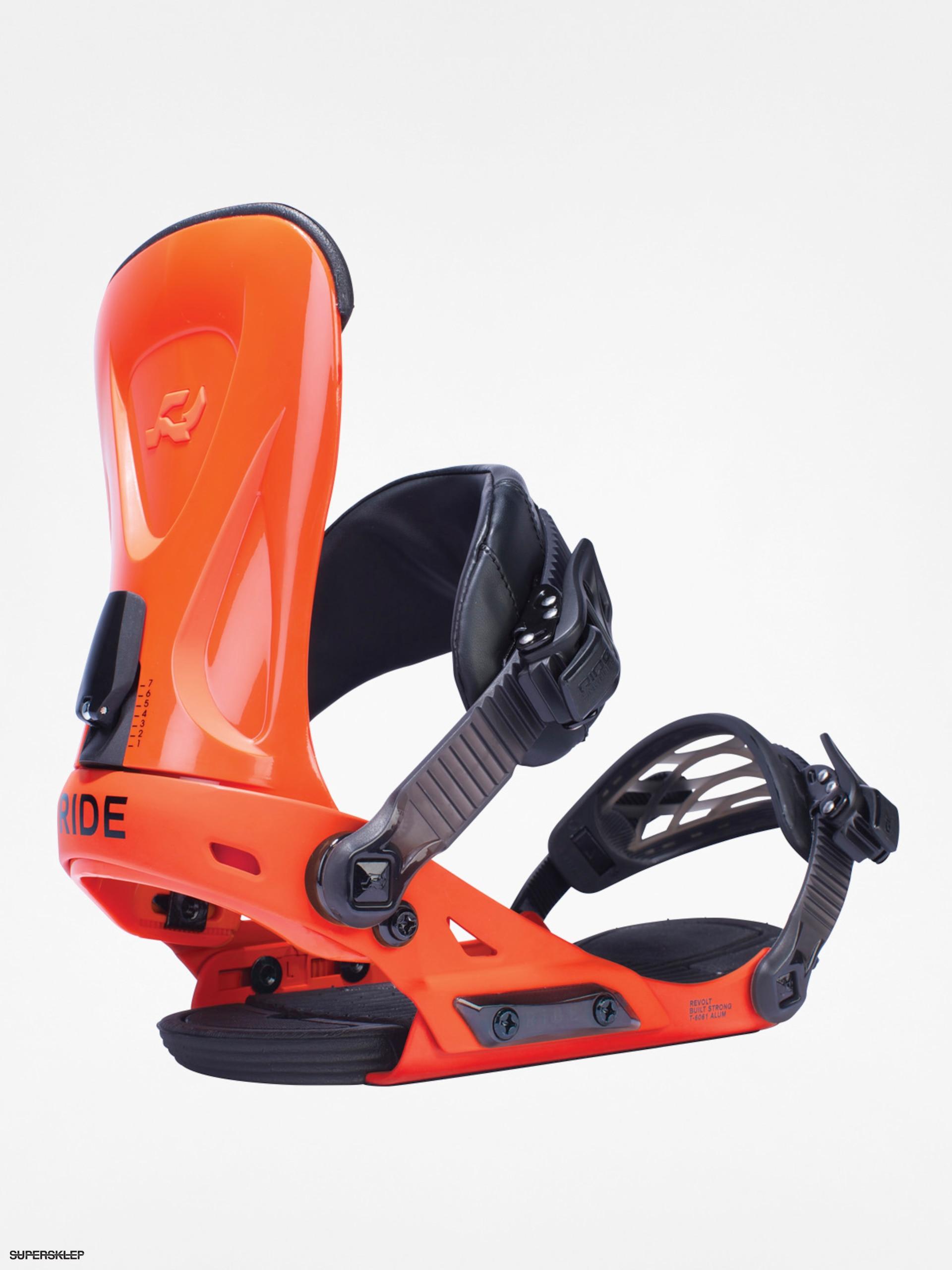 3cf15f850 Snowboardové viazanie Ride Revolt (orange)
