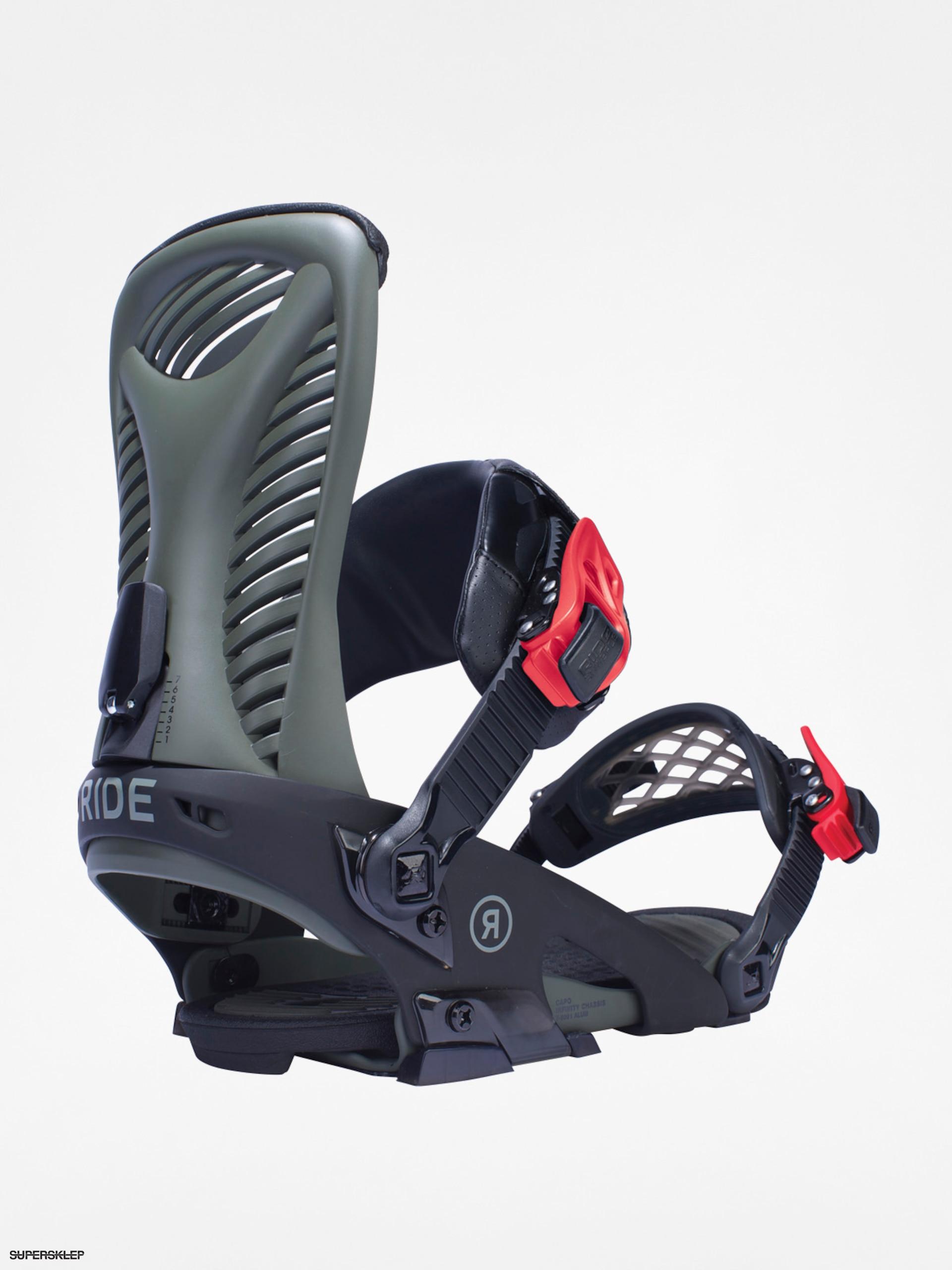 8a2e8b350 Snowboardové viazanie Ride Capo (olive)