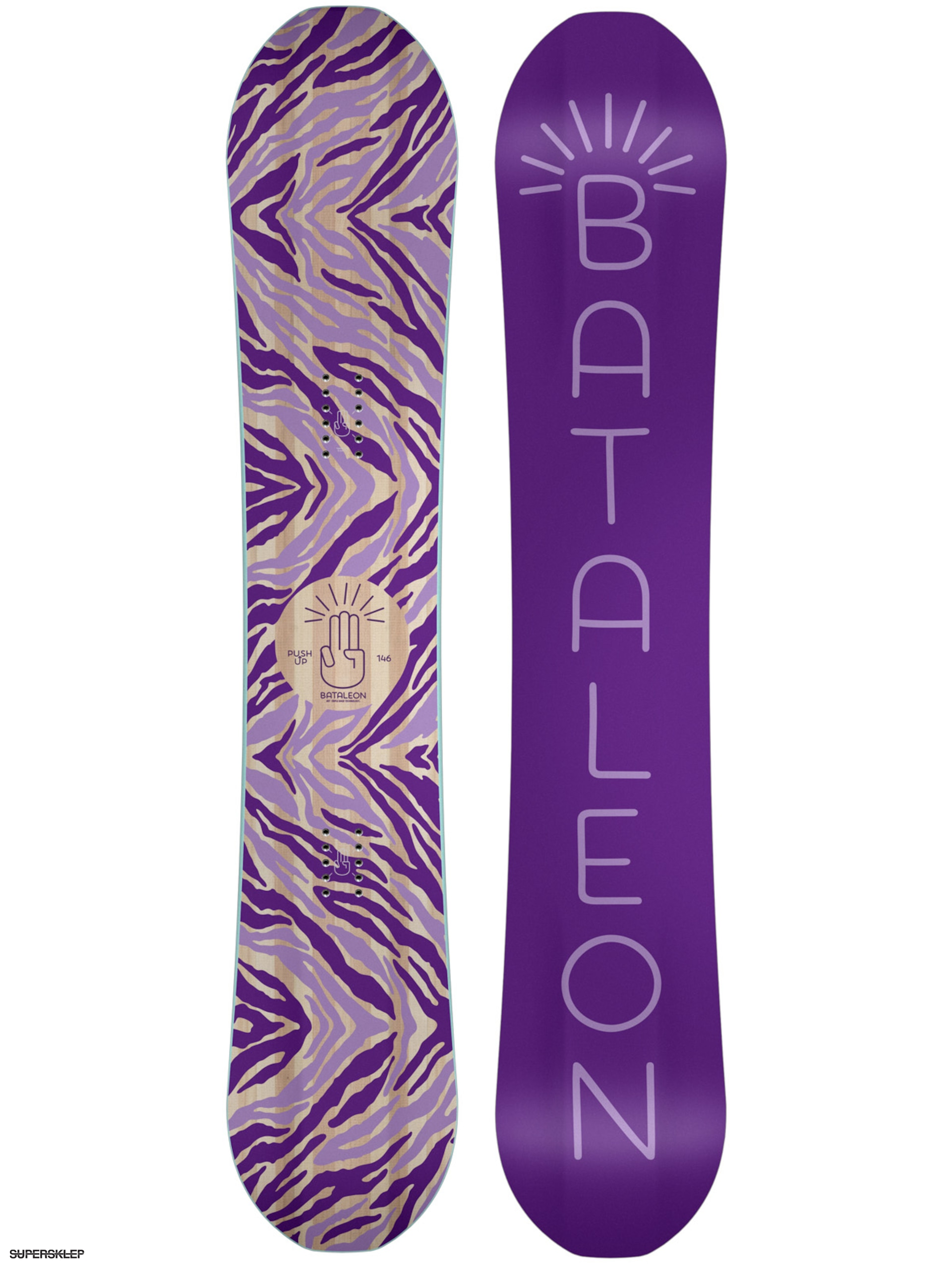 Snowboard Bataleon Push Up Wmn