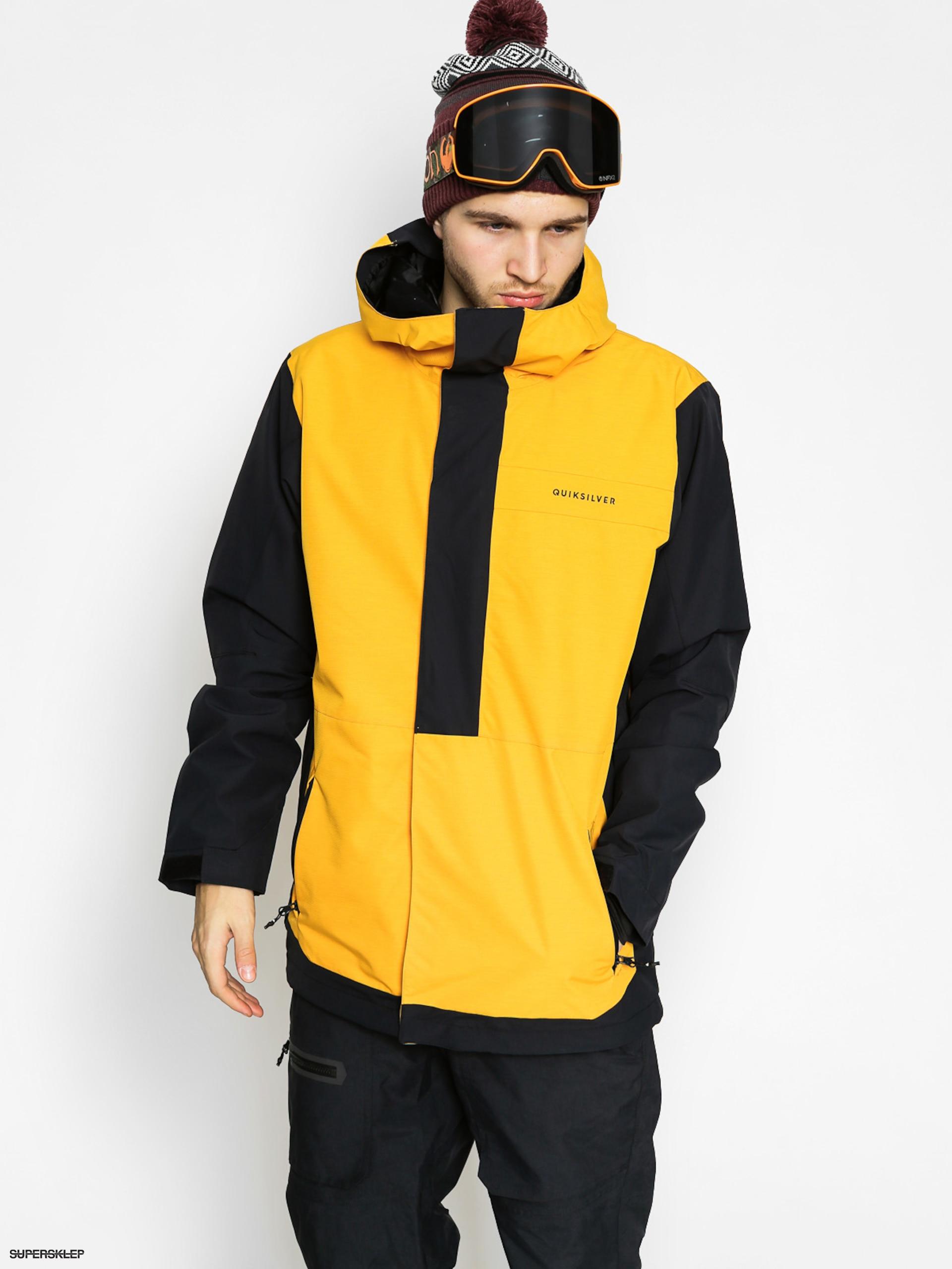 Snowboardová bunda Quiksilver Ambition (cadmium yellow) 30eb22deb26