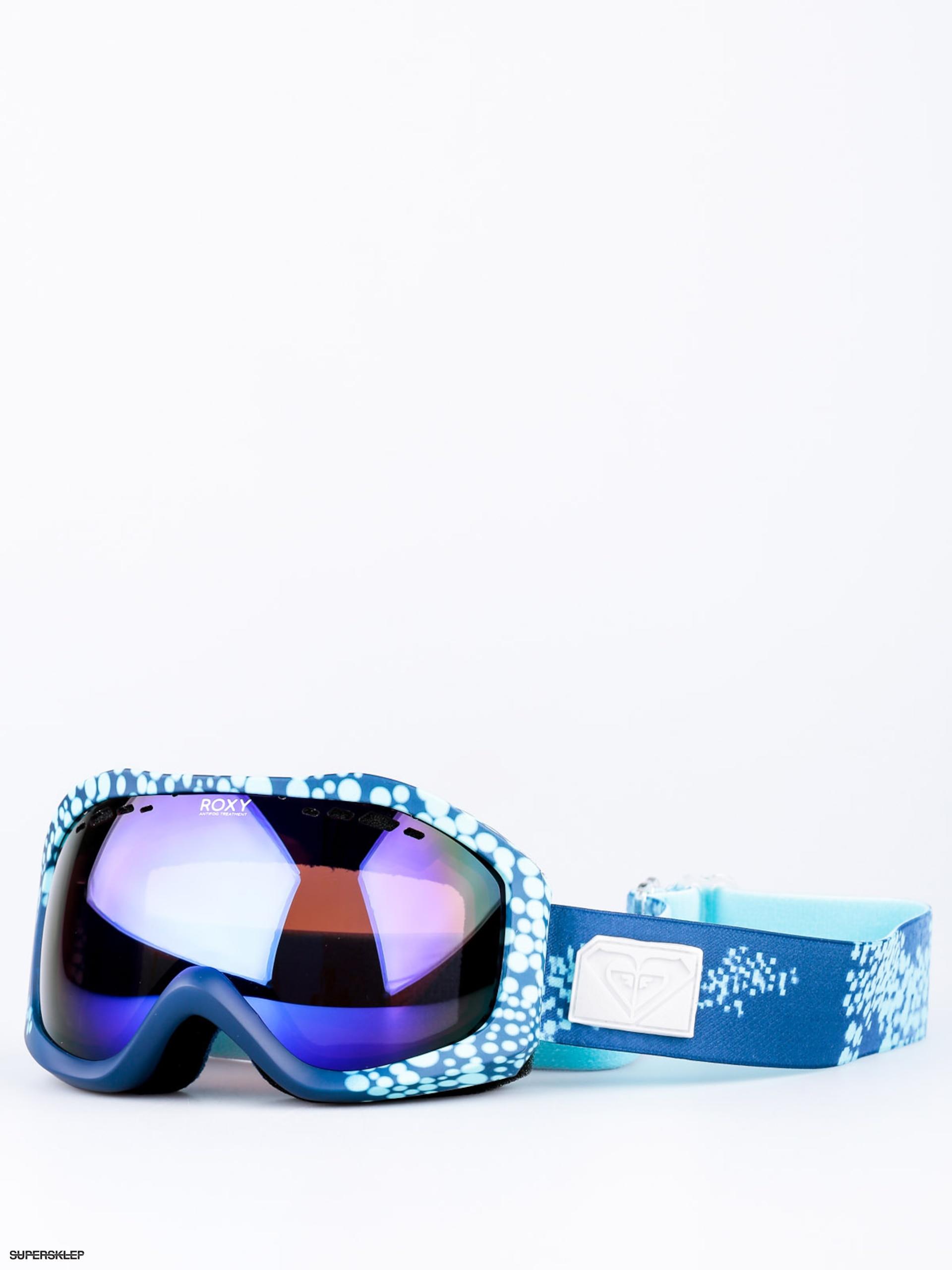 250a0ddcd Okuliare na snowboard Roxy Sunset Art Series Wmn (cloudofdots blue  radiance/amber rose ml blue)