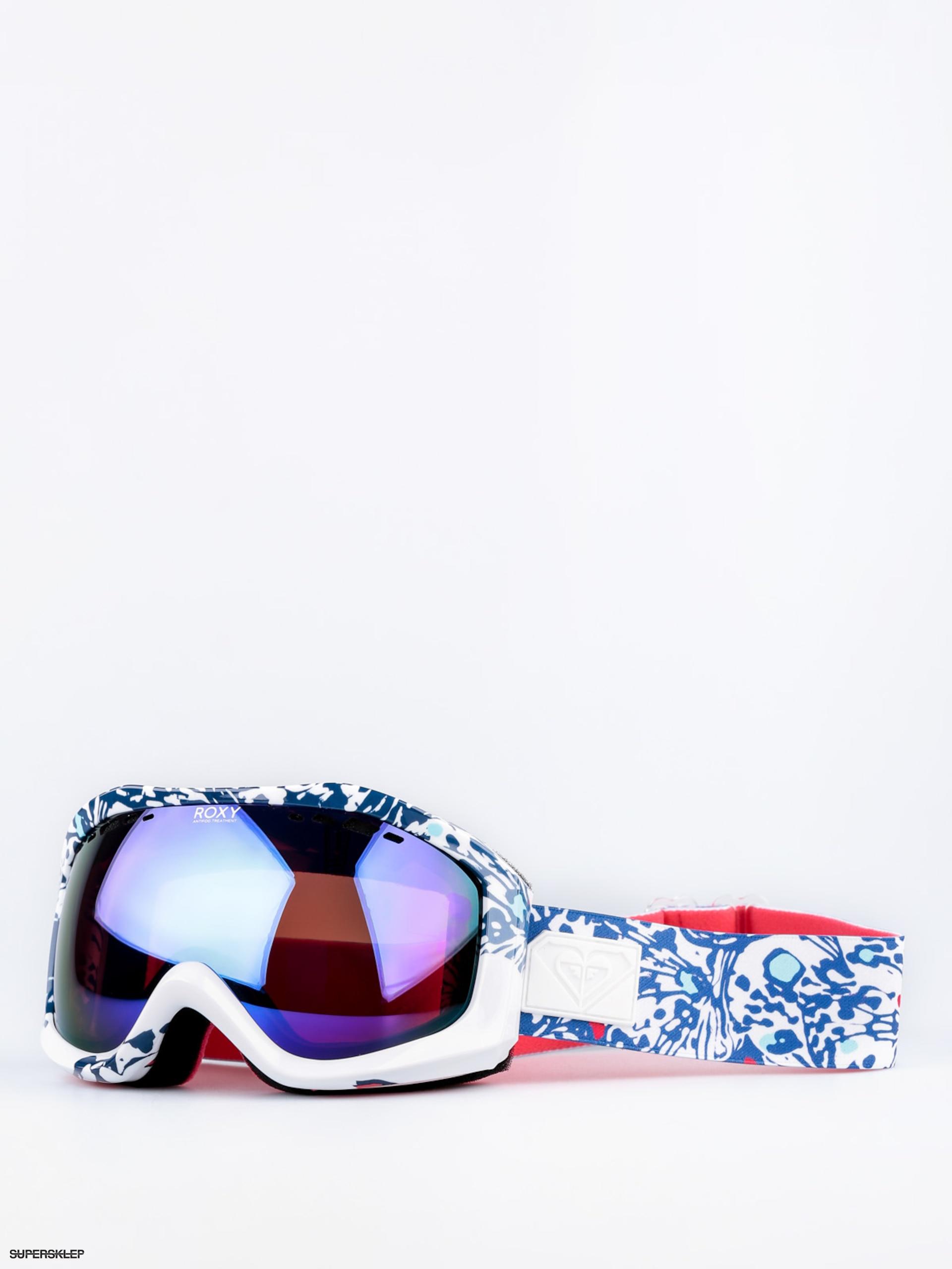 c9fca3ad0 Okuliare na snowboard Roxy Sunset Art Series Wmn (butterfly blue  print/amber rose ml blue)