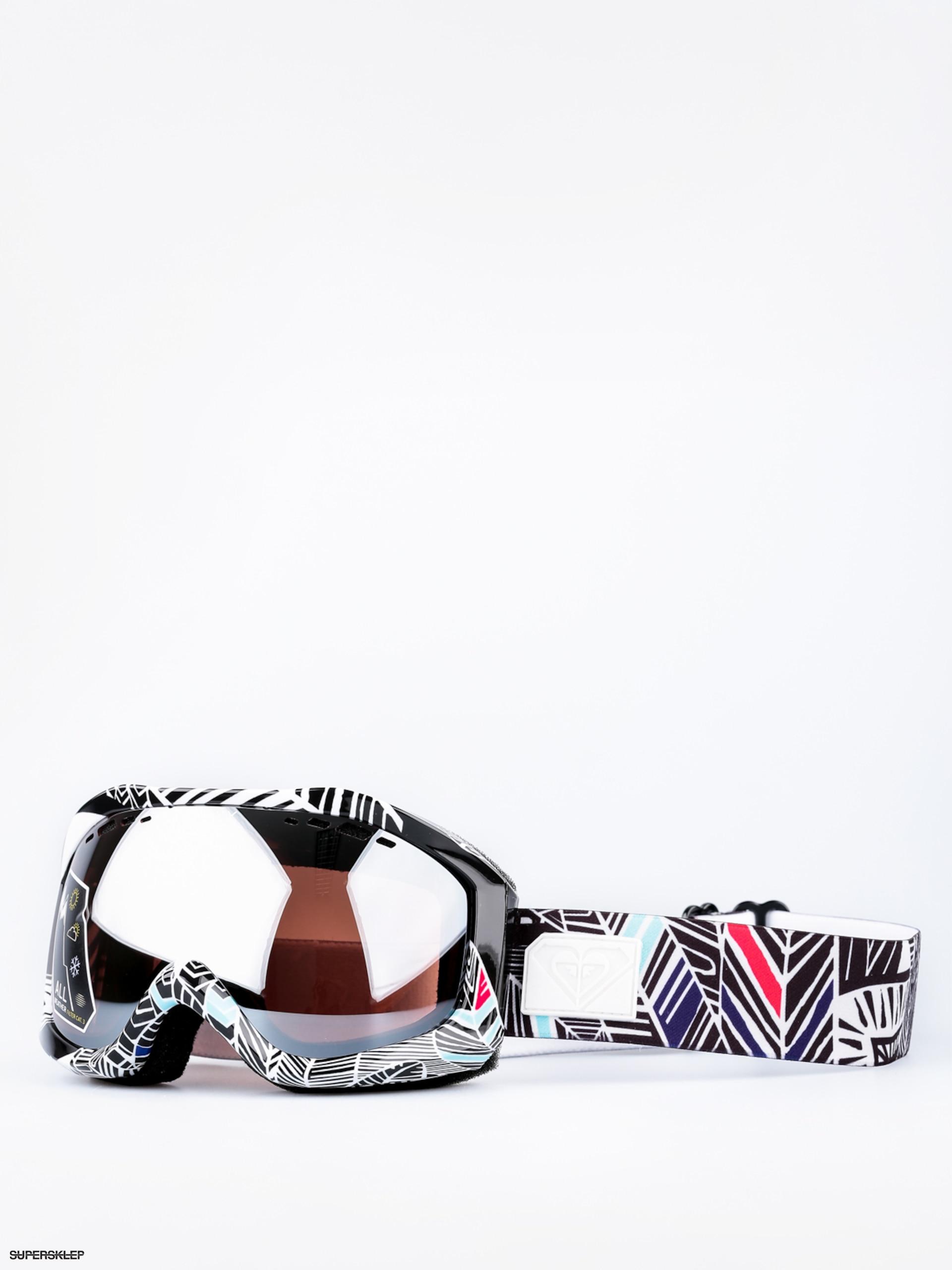 405dc44c4 Okuliare na snowboard Roxy Sunset Art Series Wmn (ha hui true black/amber  rose silver mirror)