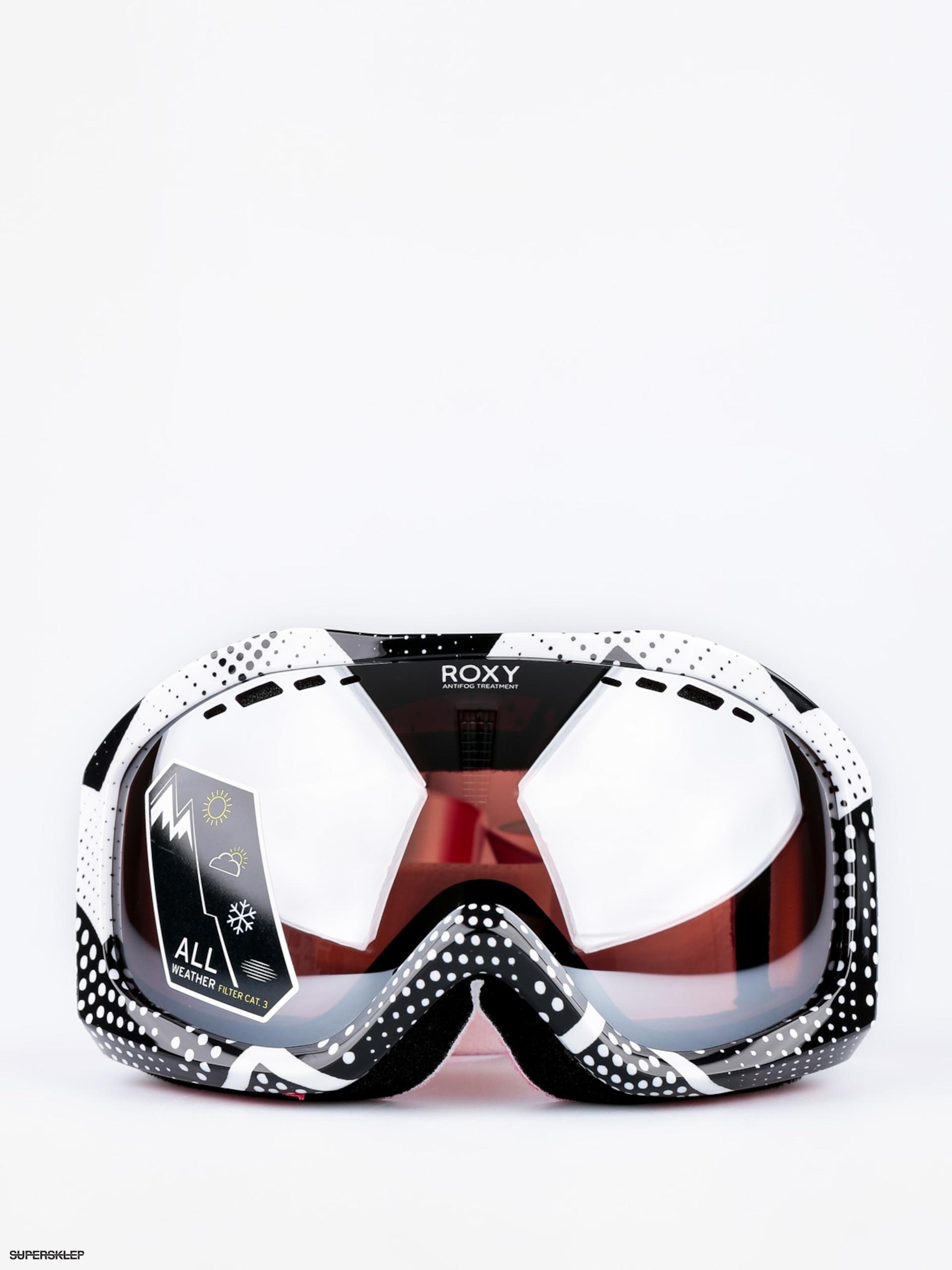 26fc4eb2f Okuliare na snowboard Roxy Sunset Art Series Wmn (pop snow ocean spray  granatina/amber rose silver ...