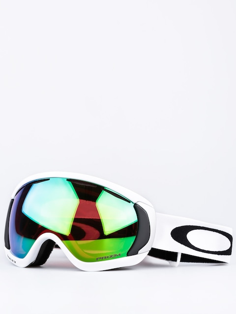 Okuliare na snowboard Oakley Canopy (matte white w/prizm jade irid)
