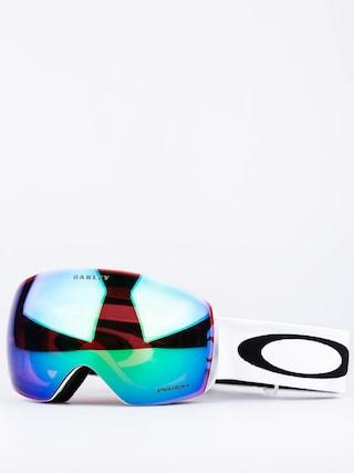 Okuliare na snowboard Oakley Flight Deck (matte white w/prizm jade)